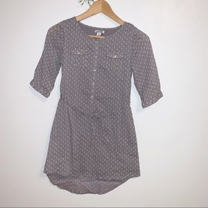 5/$30 Old Navy casual belted dress